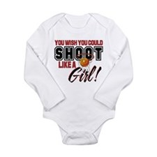Basketball - Shoot Like a Girl Long Sleeve Infant