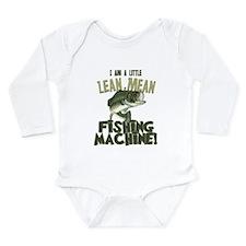 Lean Mean Fishing Machine Onesie Romper Suit
