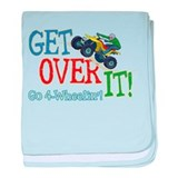 Get Over It - 4 Wheeling Infant Blanket