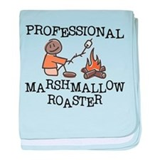Professional Marshmallow Roaster baby blanket