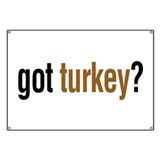 got turkey? Banner