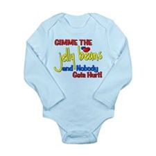 Gimme The Jelly Beans Long Sleeve Infant Bodysuit