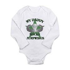 Unique Girlfriend of a soldier Long Sleeve Infant Bodysuit
