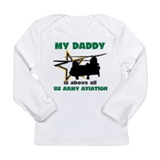 Unique Soldiers moms Long Sleeve Infant T-Shirt
