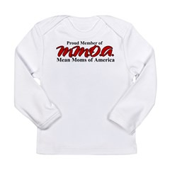 Mean Moms of America Long Sleeve Infant T-Shirt