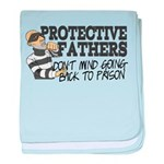 Protective Fathers Infant Blanket