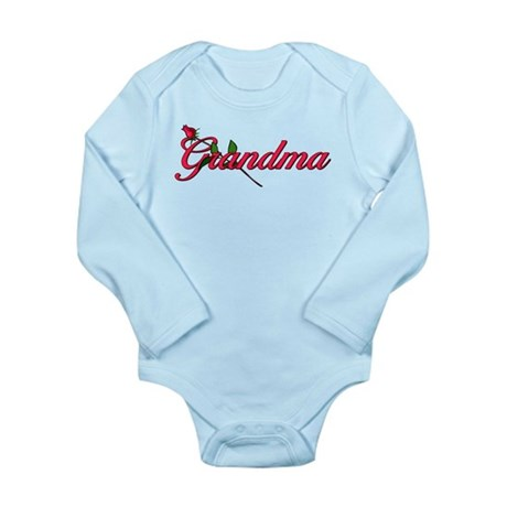 Grandma Long Sleeve Infant Bodysuit