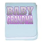 Baby Grandma Infant Blanket