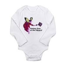 Fantasy lives at the Library! Long Sleeve Infant B