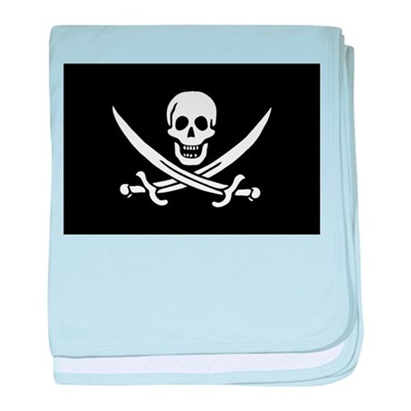 Pirate Captain Calico Jack Ra Infant Blanket