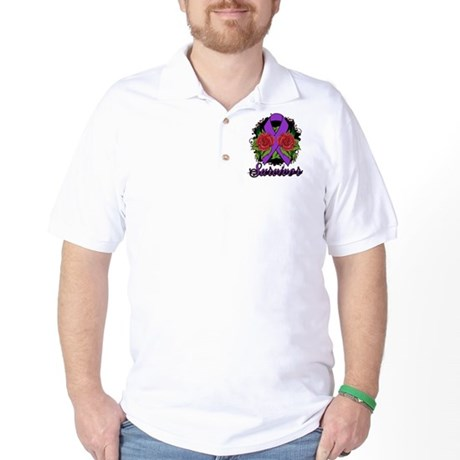 Pancreatic Cancer Golf Shirt