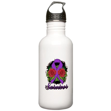 Pancreatic Cancer Stainless Water Bottle 1.0L