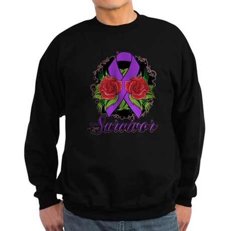 Pancreatic Cancer Sweatshirt (dark)