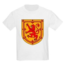 Scottish Coat of Arms Kids T-Shirt