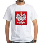 Polish Coat of Arms White T-Shirt