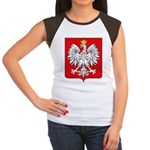 Polish Coat of Arms Women's Cap Sleeve T-Shirt
