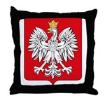 Polish Coat of Arms Throw Pillow