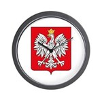 Polish Coat of Arms Wall Clock