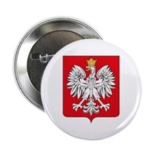 "Polish Coat of Arms 2.25"" Button (10 pack)"