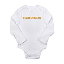 Texifornia Long Sleeve Infant Bodysuit