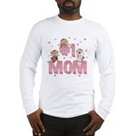 #1 Mom Long Sleeve T-Shirt