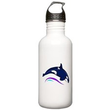 Jumping Orca Water Bottle