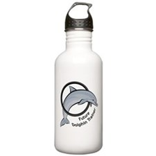 Future Dolphin Trainer Water Bottle