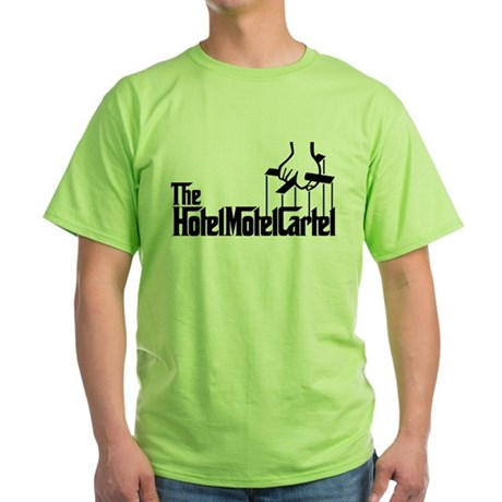 The Hotel Motel Cartel Green T-Shirt