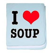 I Heart (Love) Soup Infant Blanket