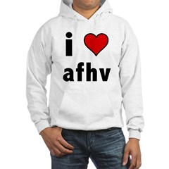 I Love AFV Hooded Sweatshirt