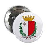 Malta Coat of Arms 2.25&quot; Button (10 pack)