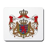 Luxembourg Coat of Arms Mousepad