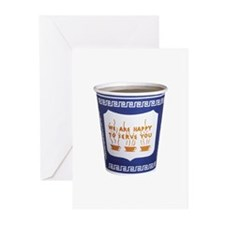 NYC Coffee Cup Greeting Cards (Pk of 20)