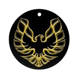 Firebird / Trans Am Ornament (Round)