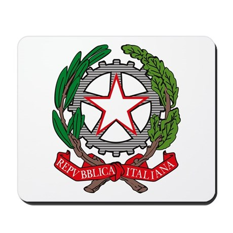 Italian Coat of Arms Mousepad