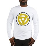 DJ - Long Live Vinyl Long Sleeve T-Shirt