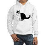 Dizzy Looking Up Hooded Sweatshirt