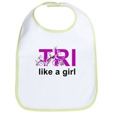 TRI like a girl Bib
