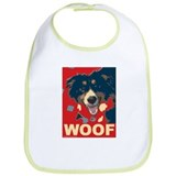 Unique Australian shepherd Bib