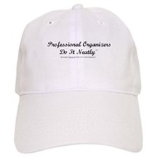 Professional Organizers Do It Neatly White Baseball Cap