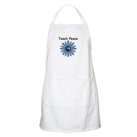 Teach Peace BBQ Apron