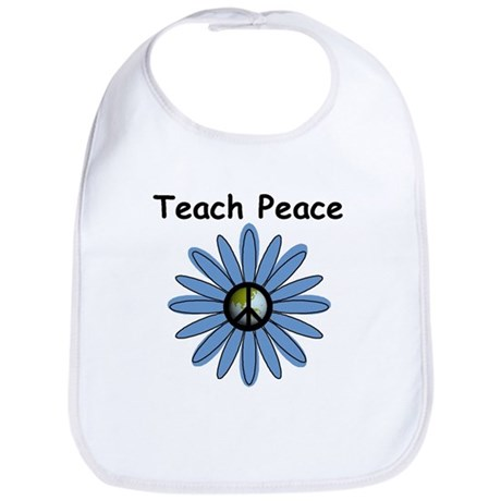 Teach Peace Bib