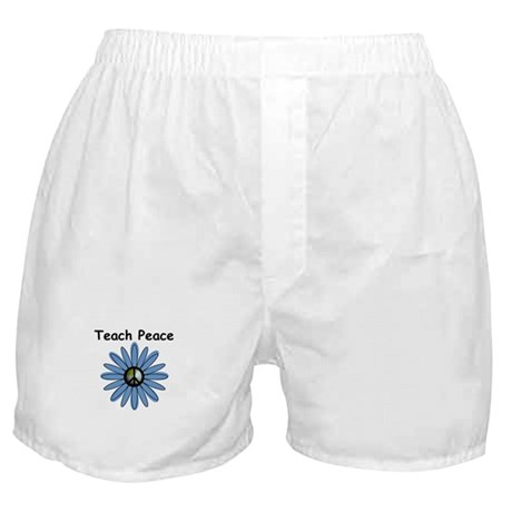 Teach Peace Boxer Shorts