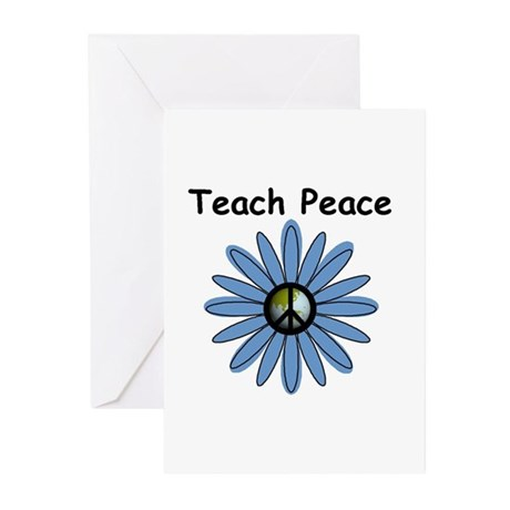 Teach Peace Greeting Cards (Pk of 10)