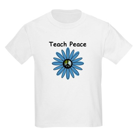 Teach Peace Kids T-Shirt