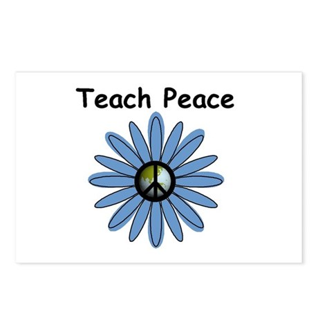 Teach Peace Postcards (Package of 8)
