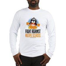 MS Boxing Penguin Long Sleeve T-Shirt