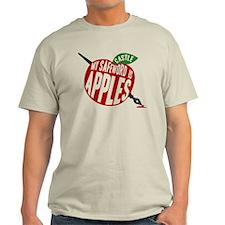 Castle My Safeword Is Apples Light T-Shirt