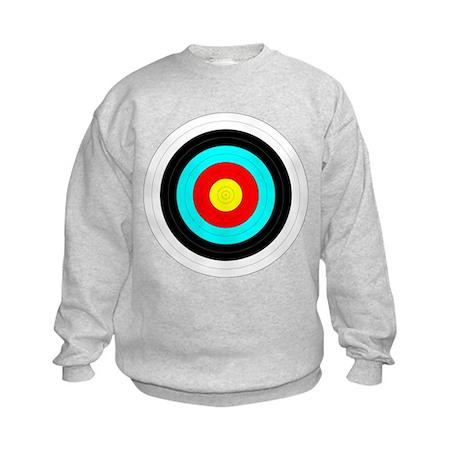 Archery Target Kids Sweatshirt