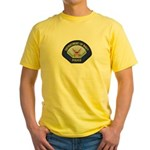 U S Navy Police Yellow T-Shirt